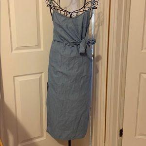 TOPSHOP Summer Denim Dress